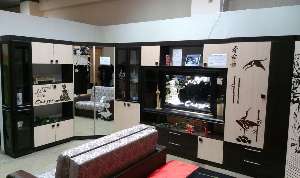 ВикО Мебель Миасс - набор на заказ - стенка для гостиной
