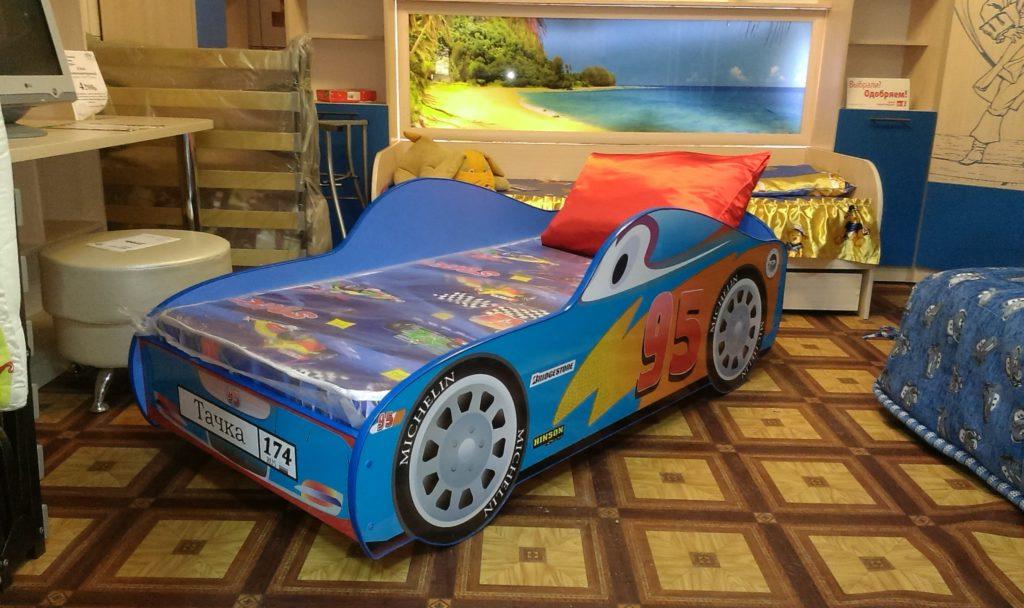 ВикО Мебель Миасс - кровать машинка
