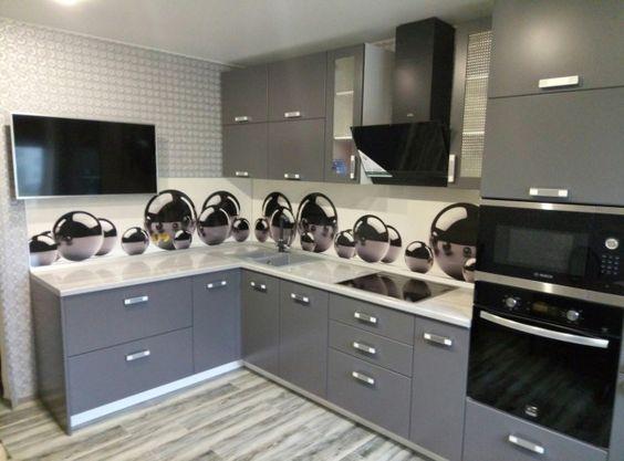 Маленькая кухня - ВикО Мебель Миасс