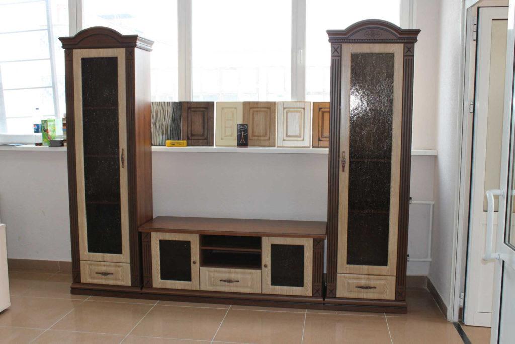 ВикО Мебель Миасс - Стенка для гостиной в классическом стиле