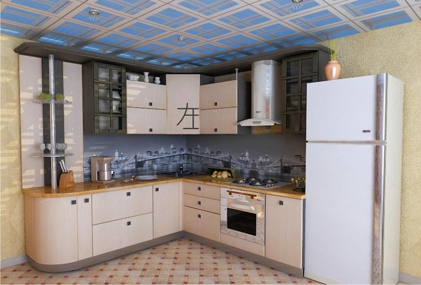 Кухня в японском стиле - ВикО Мебель Миасс