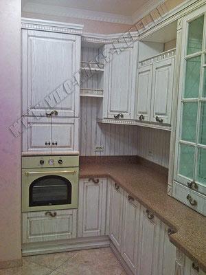 Вико Мебель Миасс - мебель для кухни: кухонные гарнитуры в классическом стиле