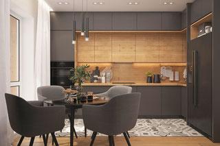 Кухни в стиле Лофт - ВикО Мебель Миасс