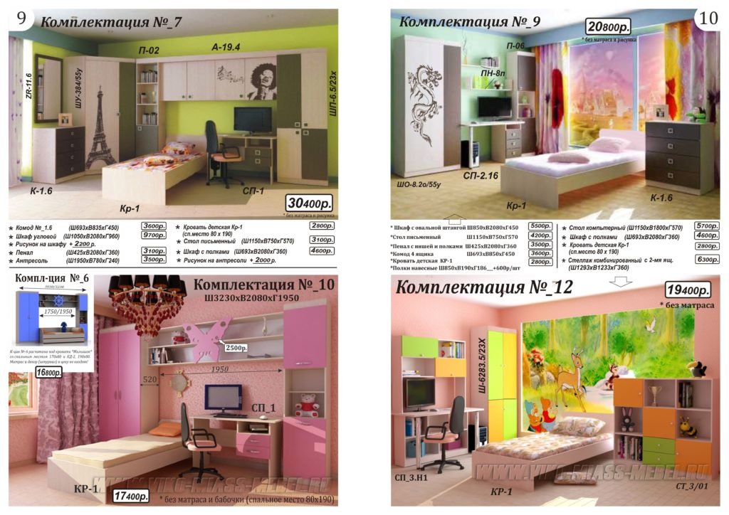 Мебель для детей и подростков на заказ - ВикО Мебель Миасс