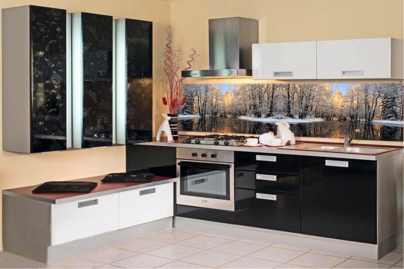 Угловая кухня в стиле модерн - ВикО Мебель Миасс