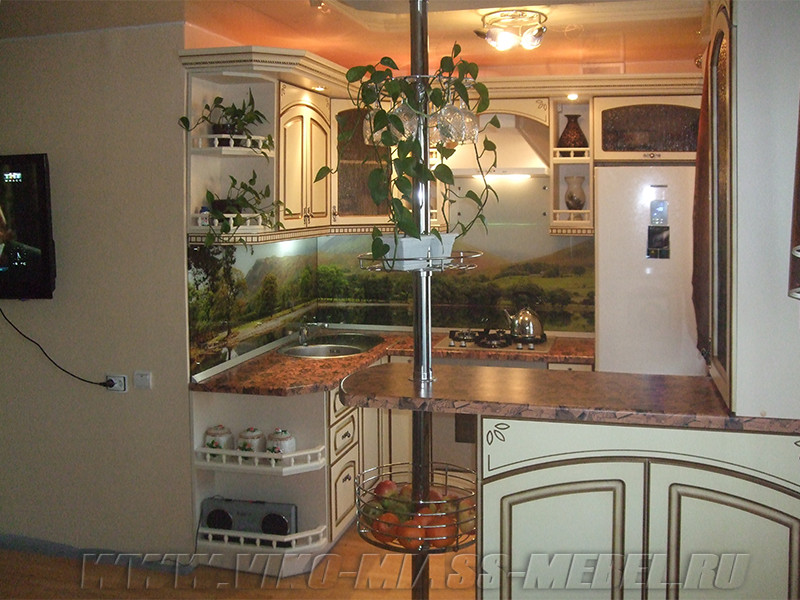 Наши работы - Кухни в классическом стиле - ВикО Мебель Миасс