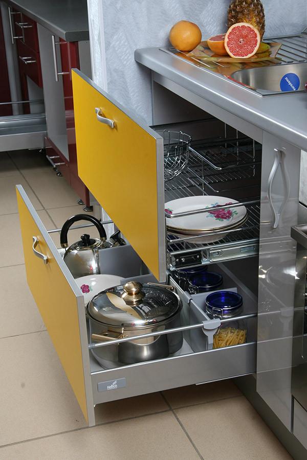 Наши работы - Кухни в стиле Модерн - ВикО Мебель Миасс